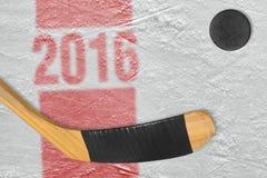 2016 hokejowych sezonów Zdjęcia Royalty Free