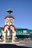 Hokitika clock tower Royalty Free Stock Photos