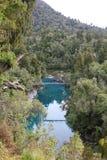 Hokitika Gorge. The Hokitika Gorge in westland, New Zealand Royalty Free Stock Photography