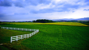 Hokkaidów krajobrazy Zdjęcie Royalty Free