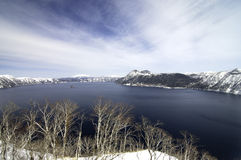 hokkaida jezioro Zdjęcia Royalty Free