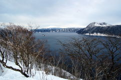 hokkaida jezioro Obraz Royalty Free