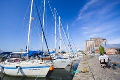 HOKKAIDO, ΙΑΠΩΝΙΑ - 16 ΙΟΥΛΊΟΥ 2015: Το Kanemori τούβλινο Warehous Στοκ Εικόνες