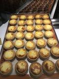 Hokkaido cheese tart Royalty Free Stock Photography