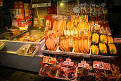 Hokkaido marknad Royaltyfri Foto