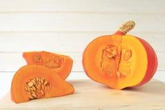 Hokkaido pumpkin Royalty Free Stock Images