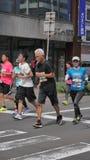 Hokkaido Sapporro Japan 20. von den vom August 2017-Marathon-Läufern aus der ganzen Welt, die am internationalen Ereignis erfasse Stockbild