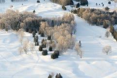 Hokkaido Ski Resort Lizenzfreie Stockbilder
