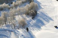 Hokkaido Ski Resort Lizenzfreie Stockfotografie