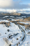 Hokkaido Ski Resort. Snow view stock photo