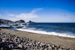 Hokkaido utoro harbor at Japan Stock Image