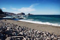 Hokkaido utorohamn på Japan Royaltyfri Fotografi