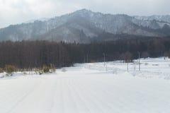 Hokkaido winter season Royalty Free Stock Photo