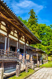 Hokke-do hall of Todai-ji temple in Nara Stock Images
