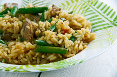 Hokkien fried rice Royalty Free Stock Images