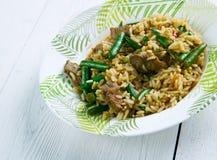 Hokkien fried rice Stock Photo