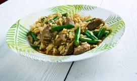 Hokkien fried rice Royalty Free Stock Photo