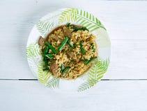 Hokkien fried rice Royalty Free Stock Photos