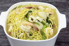 Hokkien Mee Stir Fry Noodles Royalty Free Stock Photos