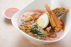 Hokkien Prawn noodles Stock Images