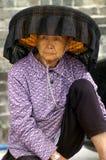 Hokkien woman wearing national costume Stock Image