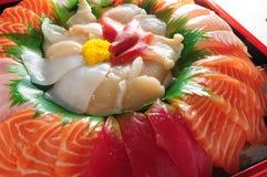 Hokkigai sushi Stock Photography