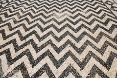Hoklakia mosaic, Halki island Stock Image