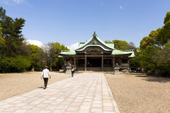 Hokoku shrine in Osaka Royalty Free Stock Photo