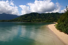 Hokules Strand Nordküste Oahu Stockfoto