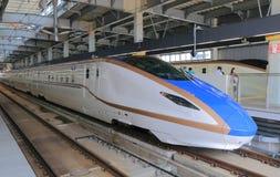 Hokuriku Sinkansen bullet train Japan Royalty Free Stock Images