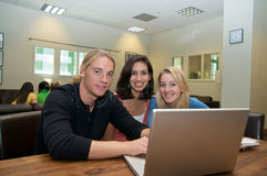 holów ucznie wielokulturowi studenccy Zdjęcie Stock