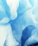 Hol in de gletsjer Stock Foto