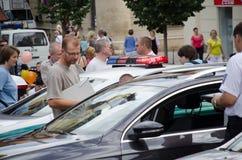 Hol policie Stock Foto