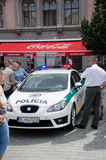 Hol policie Brno Stock Afbeelding