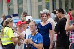 Hol policie Brno Royalty-vrije Stock Foto