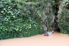Hol van Indio bij de Vinales-vallei in Cuba Royalty-vrije Stock Fotografie