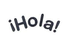 Hola字法 库存照片