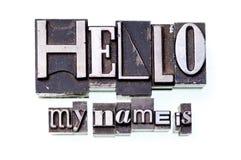Hola. Fotografía de archivo
