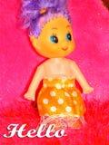 hola Imagen de archivo libre de regalías
