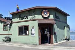 HOLA barra y restaurante en el Embarcadero, 1 de la zambullida Foto de archivo libre de regalías