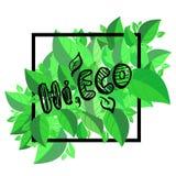 Hola eco Imagen de archivo