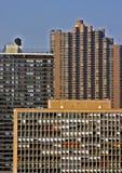 Hola edificios de la subida Imagenes de archivo