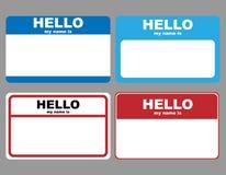 Hola etiquetas conocidas