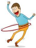 Hola hoop lover Stock Photos