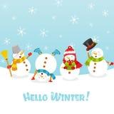 Hola invierno libre illustration