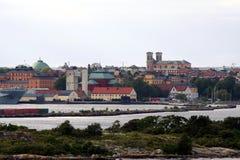 Hola Karlskrona Imágenes de archivo libres de regalías
