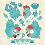 Hola pollo Imagenes de archivo