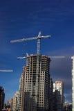 Hola-se levanta la construcción Foto de archivo libre de regalías