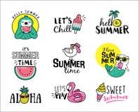 Hola verano Imagen de archivo libre de regalías