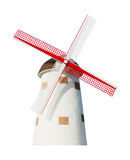 Holandés del molino de viento aislado Imagenes de archivo
